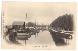 77 SEINE ET MARNE - NEMOURS Le Port Au Sable, Pionnière - Nemours