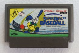 Famicom : Super Real Baseball '88 VAP-BG - Electronic Games
