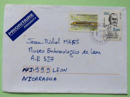 France 2010 Cover La Suze To Nicaragua - Train - Professional Unions - Frankrijk
