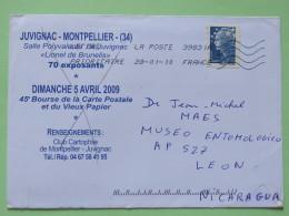 France 2010 Cover To Nicaragua - Marianne - Frankrijk