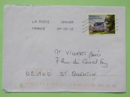 France 2012 Cover To Saint Quentin - Crazannes Castle - France