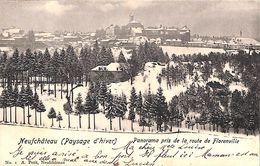 Neufchâteau (paysage D'hiver) - Panorama Pris De La Route De Florenville (A. Petit, 1902) - Neufchâteau