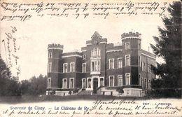 Souvenir De Ciney - Le Château De Ry (Edit. Pesesse, 1903) - Ciney