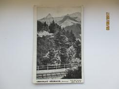 SWITZERLAND , CHOCOLAT SECHAUD MONTREUX  , OLD  POSTCARD  , RA - Altri