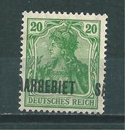 Saar MiNr. 46 Aufdruck Verschoben  (sab31) - 1920-35 Saargebied -onder Volkenbond
