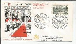 FDC 1959 PALAIS DE L'ELYSEE - FDC