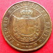 ♕  Italie : 5 Centesimi ' Vittorio Emanuele - Toscane ' 1859 - Bel état ♕ - Toscane
