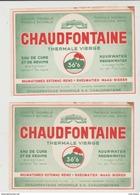Etiquette Eau Chaudfontaine - Etiketten