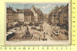STRASBOURG: La Place Gutemberg - Strasbourg
