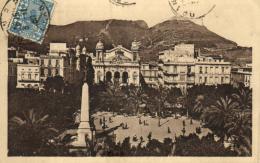 A 9146 - Algérie     Oran    La Place Du Maréchal Foch - Oran