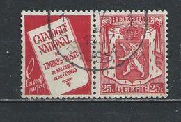 BELGIE  GESTEMPELD  OPCB.  PUBS ZEGELS  NR°  76   Catw.  0.60  Euro - Belgien