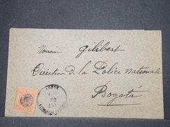 COLOMBIE - Enveloppe De Bogota Pour Bogota En 1896 - L 9650 - Colombie