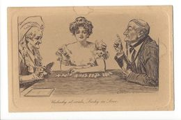 17201 - Unlucky At Cards Lucky In Love Malheureux Aux Cartes Heureux En Amour - Playing Cards