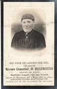 """"""" Mooregem  """" Fotoprentje Van """" Clemantina Demeulemeester """"  - 1855 - 1925 - Devotion Images"""