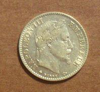 1868 - France - 10 FRANCS, NAPOLEON III (A), Tête Laurée, Or, Gad 1015 - Gold