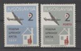 Yougoslavie 1957 Red Cross Croix Rouge MNH - Prix Nobel