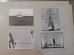 L´AVENIR     +- 36 * 27 CM   REAL PHOTOGRAPH BOAT BOOT BOAT Voilier - Velero - Sailboat - Barcos