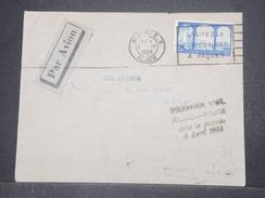 FRANCE / ALGÉRIE - Enveloppe 1 Er Vol Dans La Journée De Alger Pour Paris En 1935 - L 9680 - Algérie (1924-1962)