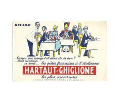 Buvard Pates Hartaut-Ghiglione - Buvards, Protège-cahiers Illustrés