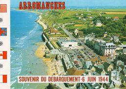 14 ARROMANCHES-Port Winston Vue Générale-Plage Aérienne Char-trés Animée CPM Editions  LE GOUBEY- - Arromanches