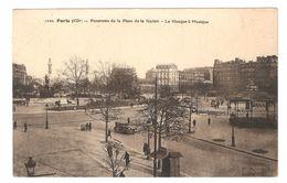 Paris - Panorama De La Place De La Nation - Le Kiosque à Musique - 1934 - Ancienne Voiture - Animée - Markten, Pleinen