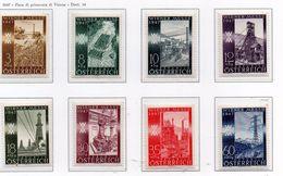 PIA - AUSTRIA  - 1947 : Fiera Di Primavera Di Vienna   -  (Yv 666-73) - 1945-.... 2ª República