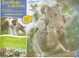 Destineo MD7 CI 0792 37 Val De Loire PIC Zoo Beauval Animaux Koala Singe Rhino Tapir Enveloppe Illustrée - Timbres