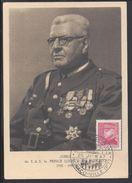"MONACO - 1947 - Carte Maximum ""Jubilé De S.A.S. Le Prince Louis II De Monaco"" B/TB - - Maximum Cards"