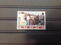 Rwanda - Postfris / MNH - 25 Jaar Onafhankelijkheid (5) 1987 Cat. Value €100,00 - 1980-89: Ongebruikt