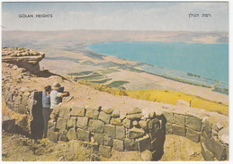 Golan Heights - View To The Jordan Valley From The Syrian Fortifications - (Israel) - Israël