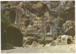 Golan Heights, Banias - Worship Crypt To The Greek God Pan In The Rock - (Israel) - Israël