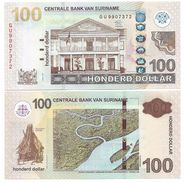 Suriname 100 Dollars P-165 2012 UNC - Surinam
