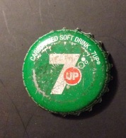 Myanmar 7 Up Used Bottle Crown Cap / Kronkorken / Capsule - Soda