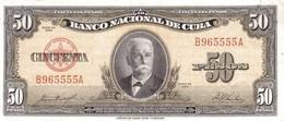 * CUBA 20 PESOS 1960 P-80c UNC [CU804c] - Cuba