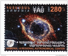 "Armenien / Armenie / Armenia 2017,  Armenia As A Regional Astronomical Center IAU ""The Helix Nebula"" Space - - Astronomie"