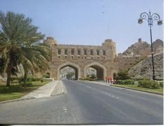 Oman - Muscat Old City Gate & Museum - Oman