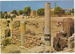 Caesarea - Ruins Of A Byzantine Public Building With Roman Statuary -  (Israel) - Israël