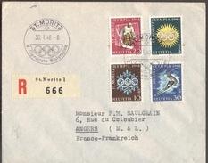 SWITZERLAND - OLYMPICS  ST. MORITZ  - 1948 - Winter 1948: St. Moritz