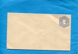 CHILI- Lettre Entier Postal-postal-stationnery- 5c Bleu Colomb Gaufrée-années 1890 - Chile