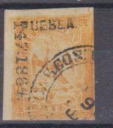 MEXICO  EAGLE 2R 1864 PUEBLA 147-1864 2ND PERIOD - Messico