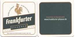 #D153-079 Viltje Frankfurter Brauhaus - Sous-bocks