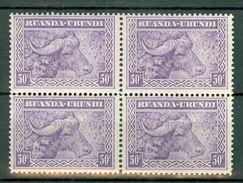 Ruanda Urundi 1931 OBP/COB 4 X 96**  MNH - Ruanda-Urundi