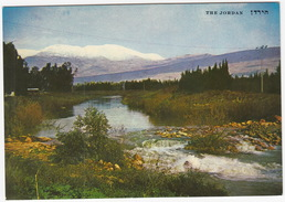 Jordan River And Mt. Hermon Covered With Snow -  (Israel) - Israël