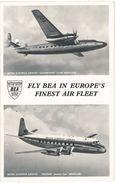 Aviation – Fly Bea In Europe's Finest Air Fleet, British European Airways Elizabethan Class ... - 1946-....: Moderne