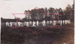 Photo 14-18 CHALANDRY (près Crécy-sur-Serre) - Jeu Nu, Soldats Du IR 159, 7ème Komp (A178, Ww1, Wk 1) - War 1914-18