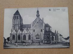 De Kerk Zoutleeuw - L'Eglise Léau ( CH. Peeters ) Anno 19?? ( Zie Foto Voor Details ) ! - Zoutleeuw