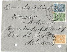 Lettre De Russie Du    07  Avril  1910 Vers L'Allemagne - 1857-1916 Empire