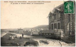 22 Plage Des ROSAIRES - Boulevard Côte D'Emeraude - A Gauche Le Grand Hotel En Construction  (Resto/Verso) - Altri Comuni