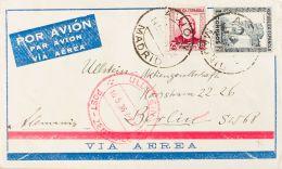 República Española Correo Aéreo. República Española Correo Aéreo. En El Frente Marca De Tránsito. MAGNIFIC - 1873 1st Republic