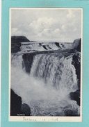 Old Postcard Of Gullfoss,(The Golden Waterfall) White River (Hvita),Iceland.,Y39. - Iceland
